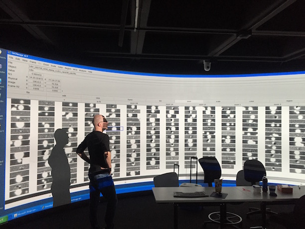 DWF data display